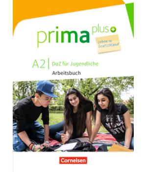 Робочий зошит Prima plus A2 Leben in Deutschland Arbeitsbuch mit MP3-Download und Lösungen