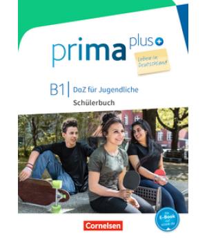 Підручник Prima plus B1 Leben in Deutschland Schülerbuch mit MP3-Download