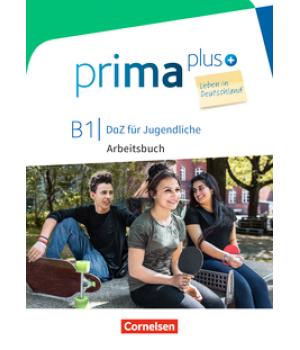 Робочий зошит Prima plus B1 Leben in Deutschland Arbeitsbuch mit MP3-Download und Lösungen