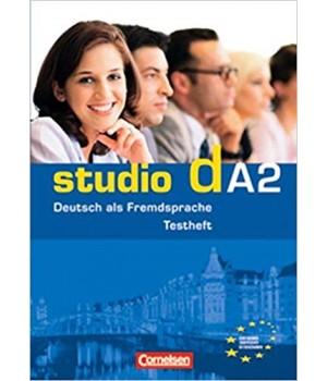 """Тести Studio d A2 Testvorbereitungsheft und Modelltest """"Start Deutsch 2"""" mit CD"""