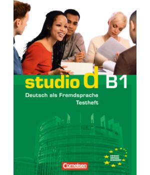 Тести Studio d B1 Testvorbereitungsheft mit CD