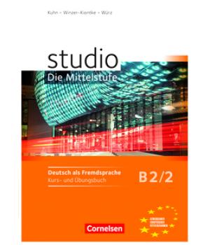 Підручник Studio d B2/2 Kurs- und Übungsbuch mit Lerner-Audio-CD