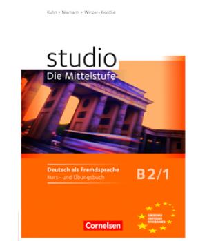 Підручник Studio d B2/1 Kurs- und Übungsbuch mit Lerner-Audio-CD