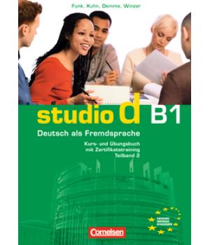 Підручник Studio d B1/2 Kurs- und Übungsbuch mit Lerner-Audio-CD