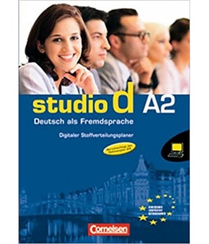 Підручник Studio d A2 Digitaler Stoffverteilungsplaner auf CD-ROM