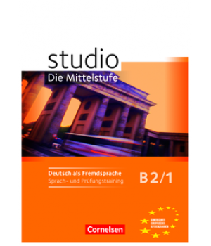 Робочий зошит Studio d B2/1 Sprach- und Prufungstraining Arbeitsheft