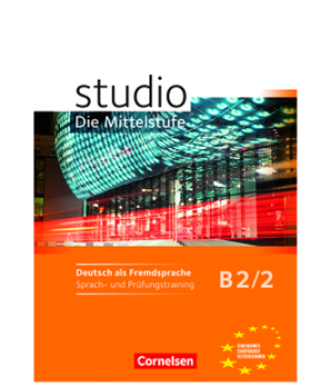 Робочий зошит Studio d B2/2 Sprach- und Prufungstraining Arbeitsheft