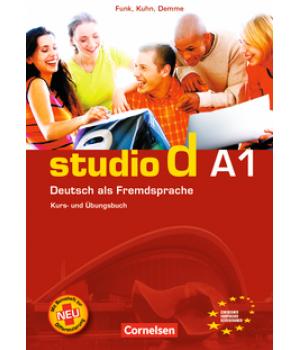 Підручник Studio d A1 Kurs- und Übungsbuch mit Lerner-Audio-CD