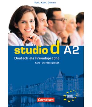 Підручник Studio d A2 Kurs- und Übungsbuch mit Lerner-Audio-CD