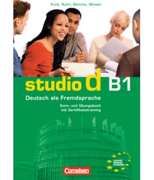Підручник Studio d B1 Kurs- und Übungsbuch mit Lerner-Audio-CD