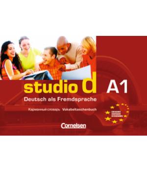 Словник Studio d A1 Vokabeltaschenbuch Deutsch-Russisch