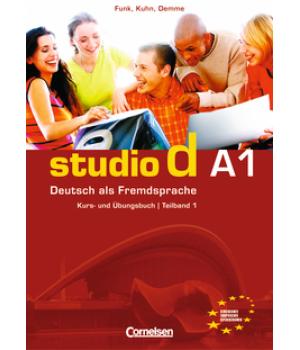 Підручник Studio d A1/1 Kurs- und Übungsbuch mit Lerner-Audio-CD