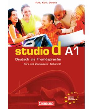 Підручник Studio d A1/2 Kurs- und Übungsbuch mit Lerner-Audio-CD