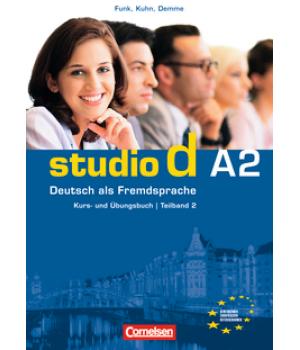 Підручник Studio d A2/2 Kurs- und Übungsbuch mit Lerner-Audio-CD