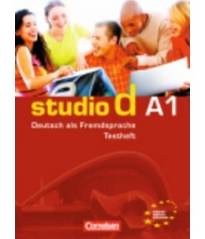 "Тести Studio d A1 Testheft A1 mit Modelltest ""Start Deutsch 1"" Mit Audio-CD"