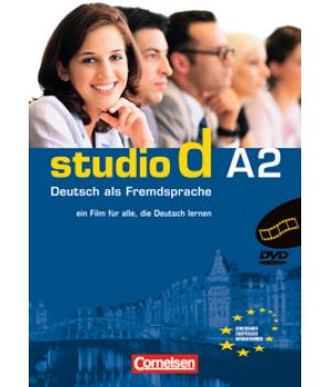 Диск Studio d A2 Video-DVD mit Ubungsbooklet