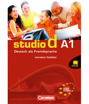 Диски Studio d A1 Whiteboardmaterial auf DVD-ROM Interaktive Tafelbilder Einzellizenz
