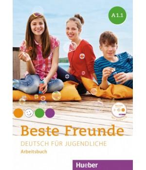 Робочий зошит Beste Freunde A1/1 Arbeitsbuch + CD-ROM