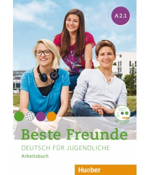 Робочий зошит Beste Freunde A2/1 Arbeitsbuch + CD-ROM