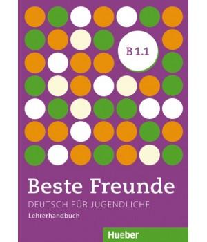 Книга для вчителя Beste Freunde B1/1 Lehrerhandbuch