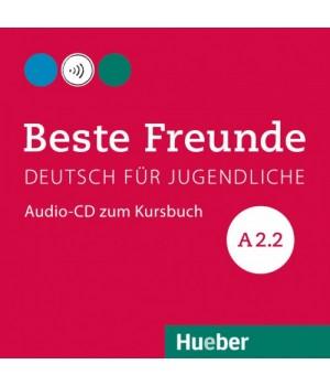 Диск Beste Freunde A2/2 Audio-CD zum Kursbuch
