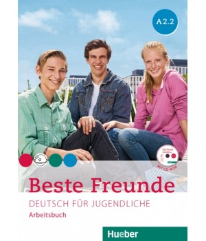 Рабочая тетрадь Beste Freunde A2/2 Arbeitsbuch + CD-ROM