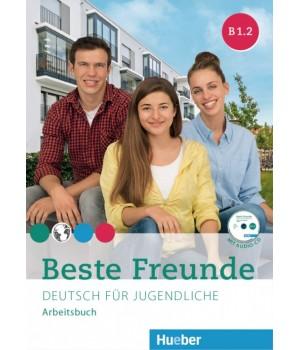 Робочий зошит Beste Freunde B1/2 Arbeitsbuch + CD-ROM