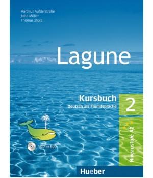 Учебник Lagune 2 Kursbuch + CD