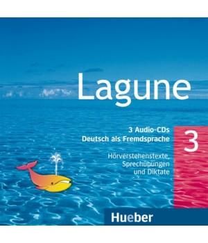 Диски Lagune 3 Audio CDs HVs und Sprechubungen