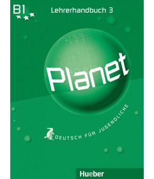 Книга для вчителя Planet 3 Lehrerhandbuch