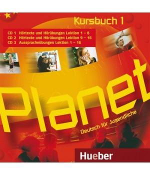 Диски Planet 1 Audio CDs zum Kursbuch