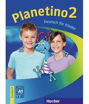 Підручник Planetino 2 Kursbuch