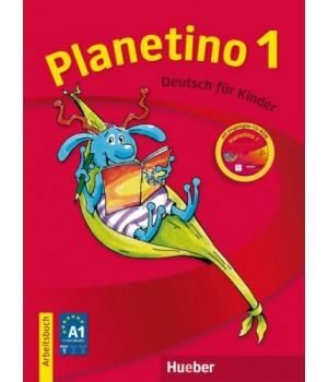 Робочий зошит Planetino 1 Arbeitsbuch mit CD-ROM
