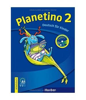 Робочий зошит Planetino 2 Arbeitsbuch mit CD-ROM
