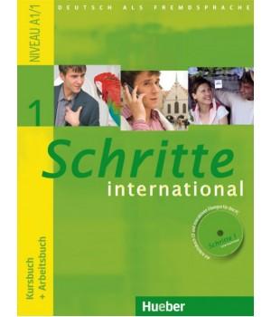 Учебник Schritte international 1 Kursbuch+Arbeitsbuch+CD zum Arbeitsbuch