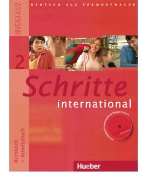 Підручник Schritte international 2 Kursbuch+Arbeitsbuch+CD zum Arbeitsbuch
