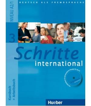 Учебник Schritte international 3 Kursbuch+Arbeitsbuch+CD zum Arbeitsbuch