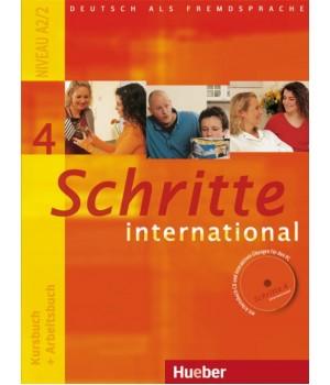 Учебник Schritte international 4 Kursbuch+Arbeitsbuch+CD zum Arbeitsbuch