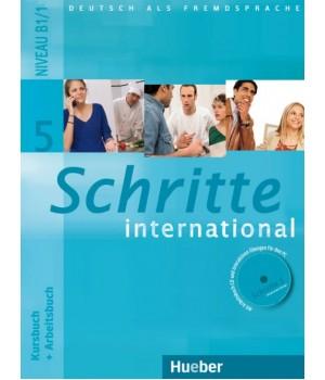 Учебник Schritte international 5 Kursbuch+Arbeitsbuch+CD zum Arbeitsbuch