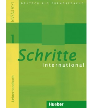 Книга для вчителя Schritte international 1 Lehrerhandbuch