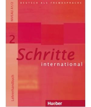 Книга для вчителя Schritte international 2 Lehrerhandbuch