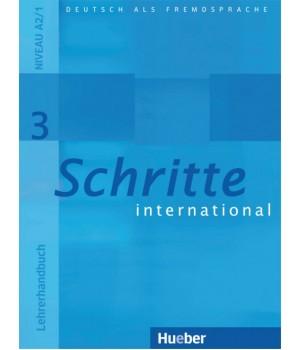 Книга для вчителя Schritte international 3 Lehrerhandbuch