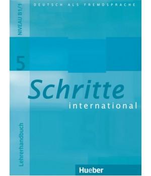 Книга для вчителя Schritte international 5 Lehrerhandbuch