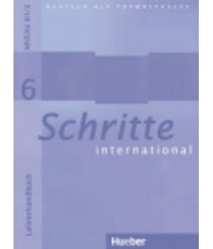 Книга для учителя Schritte international 6 Lehrerhandbuch