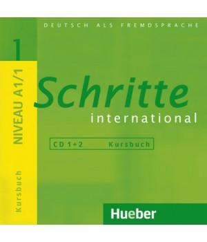 Диски Schritte international 1 CDs zum Kursbuch