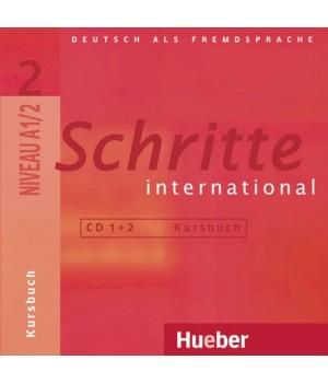 Диски Schritte international 2 CDs zum Kursbuch