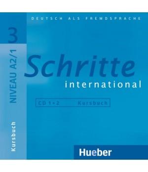 Диски Schritte international 3 CDs zum Kursbuch