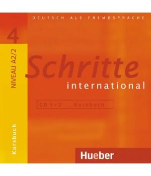 Диски Schritte international 4 CDs zum Kursbuch