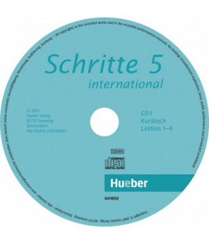 Диски Schritte international 5 CDs zum Kursbuch