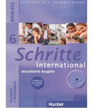Учебник Schritte international 6 Kursbuch+Arbeitsbuch+CD zum Arbeitsbuch